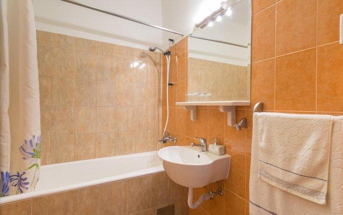 Badkamer van een appartement van Appartementen Lia in Dubrovnik