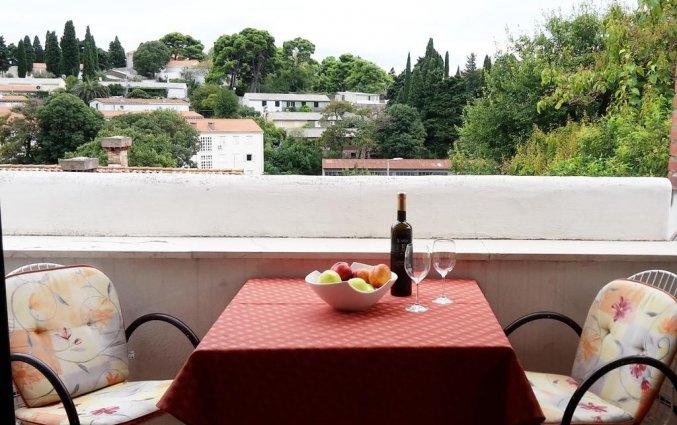 Terras van een appartement van Appartementen Lia in Dubrovnik