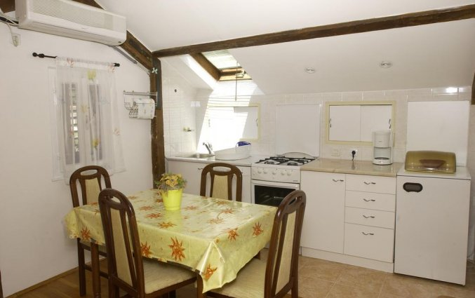 Zithoek van een appartement van Appartementen Lia in Dubrovnik