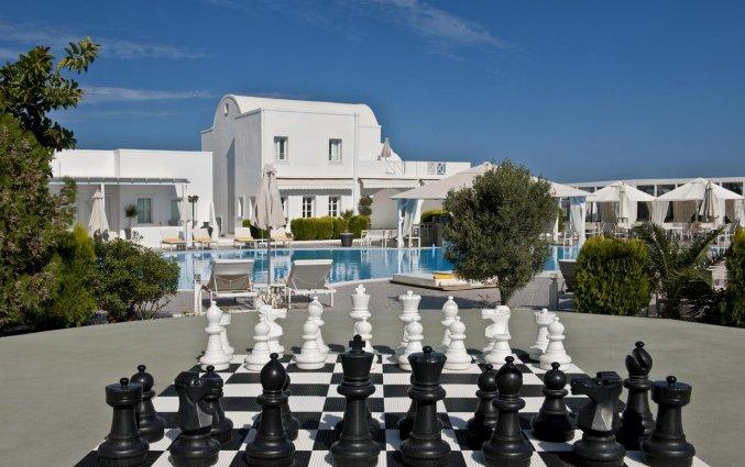 Schaakspel van Hotel Imperial Med in Santorini