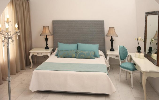 Tweepersoonskamer van Hotel Imperial Med in Santorini