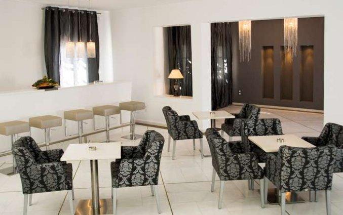 Eetzaal van Hotel Imperial Med in Santorini