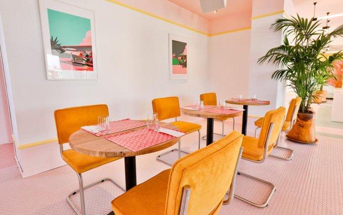 Ontbijtzaal van Hotel Paradiso Art op Ibiza