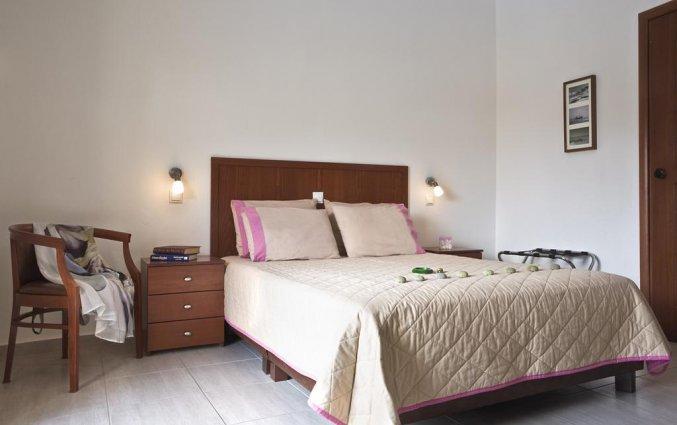 Tweepersoonskamer van Hotel Stratos op Chalkidiki