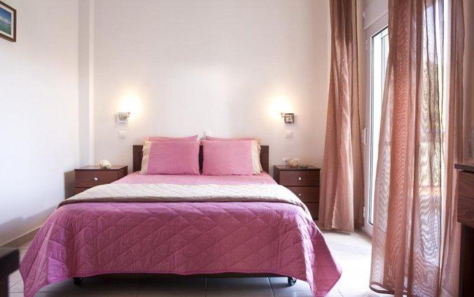 Tweepersoonskamer met 1 bed van Hotel Stratos op Chalkidiki