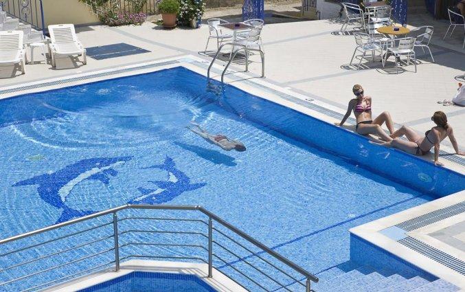 Buitenzwembad van Hotel Stratos op Chalkidiki