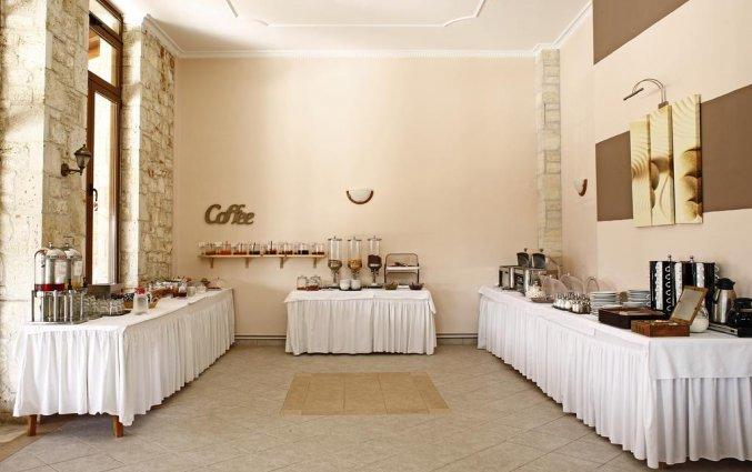 Ontbijtbuffet van Hotel Stratos op Chalkidiki