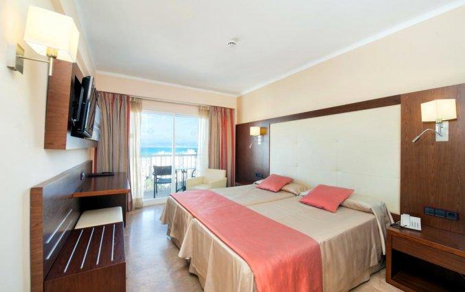Tweepersoonskamer van Hotel Torre Azul op Mallorca