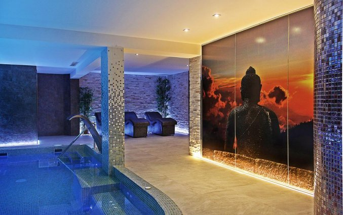 Wellnesscentrum met zwembad van Hotel Torre Azul op Mallorca