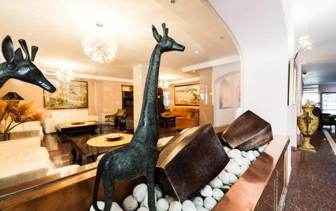 Lobby van Hotel Torre Azul op Mallorca
