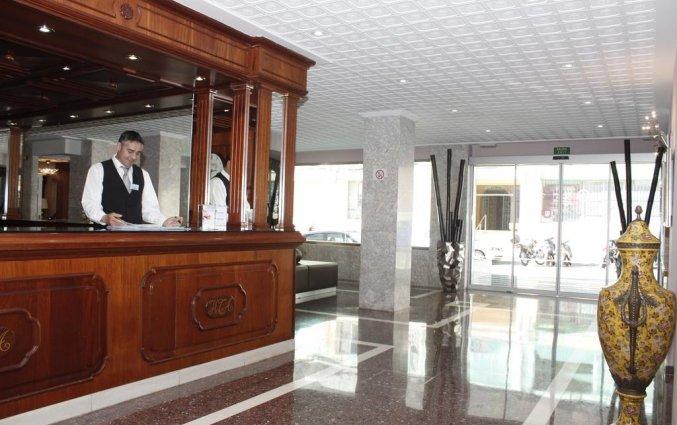 Receptie van Hotel Torre Azul op Mallorca