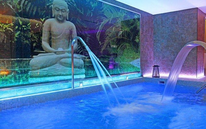 Binnenzwembad van Hotel Torre Azul op Mallorca