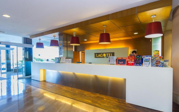 Receptie van Hotel EIX Lagotel op Mallorca