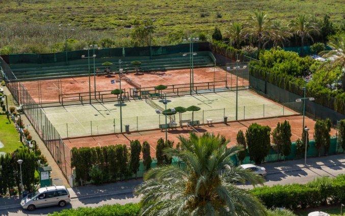 Tennisbaan van Hotel EIX Lagotel op Mallorca