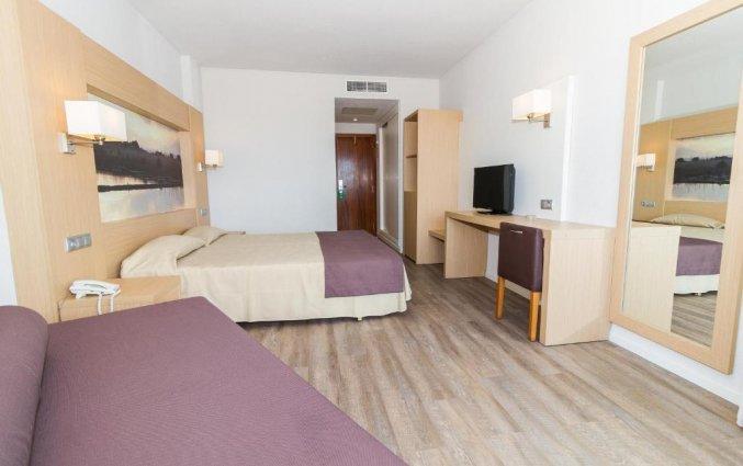Tweepersoonskamer van Hotel EIX Lagotel op Mallorca