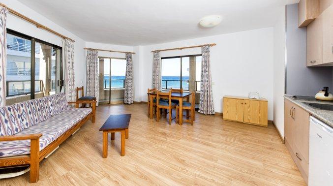 Huiskamer van Appartementen Arcos Playa Mallorca