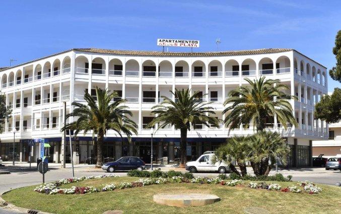 Buitanaanzicht van Appartementen Arcos Playa Mallorca