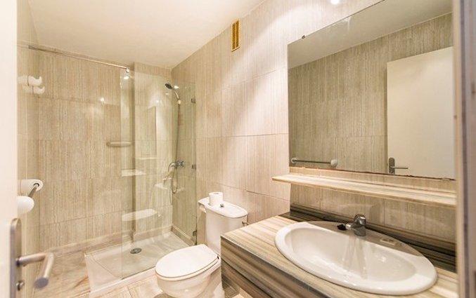 Badkamer van Appartementen Arcos Playa Mallorca