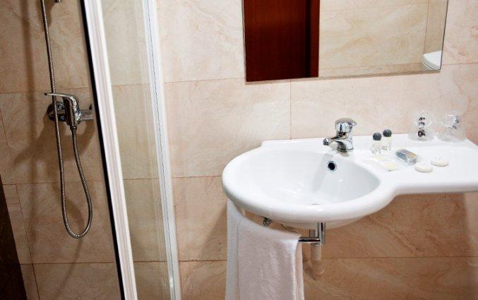 Badkamer van Hotel Malaposta in Porto