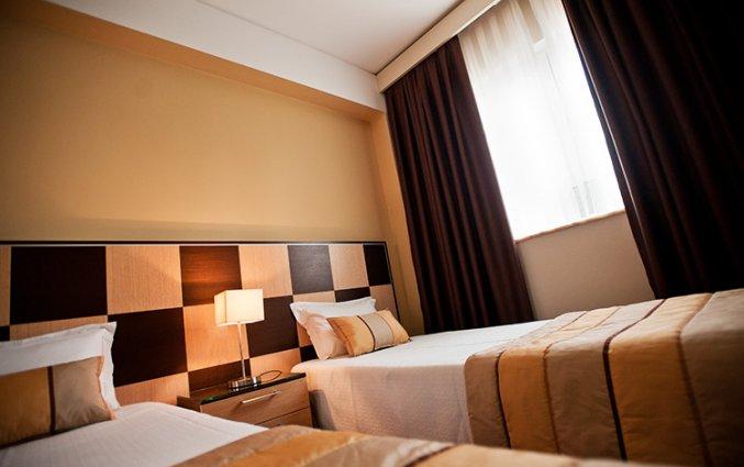 Kamer met twee losse bedden van Hotel Malaposta in Porto