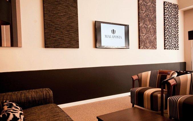 Lobby van Hotel Malaposta in Porto