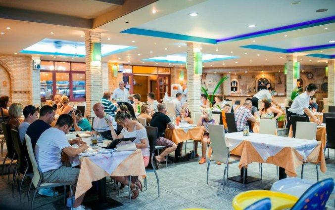 Restaurant van Hotel La Caretta op Zakynthos