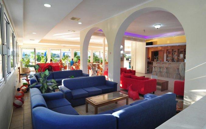 Lounge van Hotel Metaxa op Zakynthos