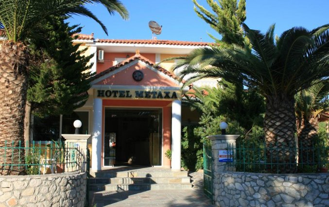 Tuin van Hotel Metaxa op Zakynthos