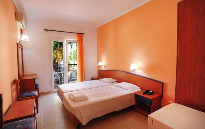Tweepersoonskamer van Hotel Metaxa op Zakynthos
