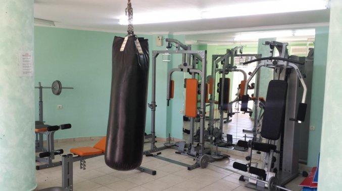 Fitnessruimte van Hotel Zante Atlantis in Zakynthos