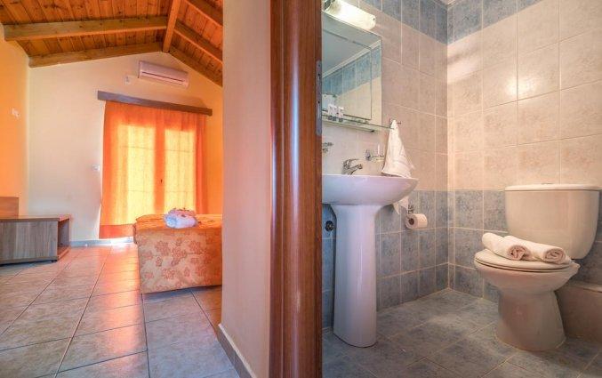 Badkamer van Hotel Zante Atlantis in Zakynthos