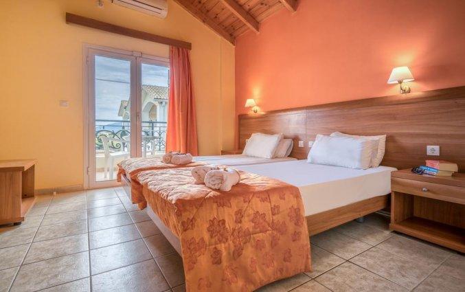 Slaapkamer van Hotel Zante Atlantis in Zakynthos