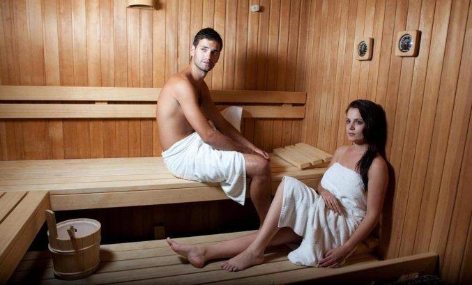 Sauna van hotel Pagus
