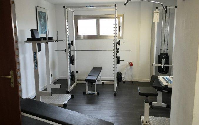 Fitnessruimte Hotel Miramar