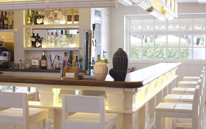 Bar van hotel Els Pins aan de Costa Brava