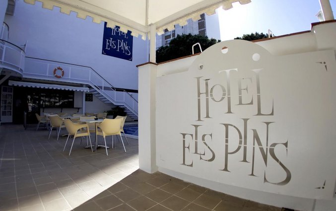 Hotel Els Pins aan de Costa Brava