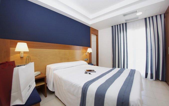 Tweepersoonskamer van Hotel Els Pins aan de Costa Brava