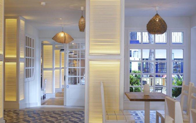 Lobby van hotel Els Pins aan de Costa Brava