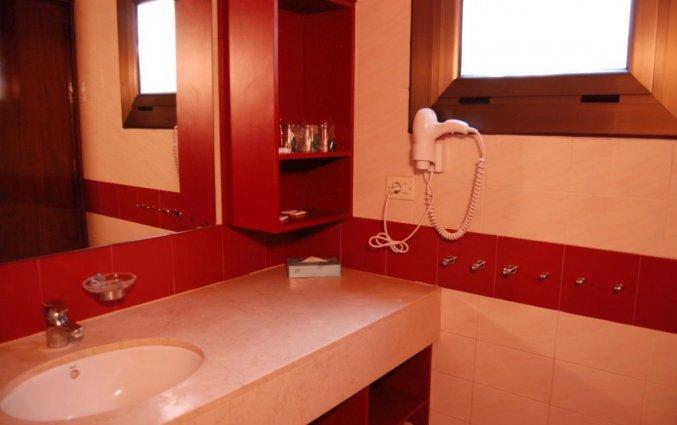Badkamer van studio van Giverola Resort Tossa de Mar