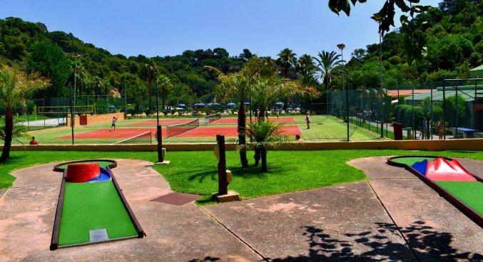 Sportactiviteiten van Giverola Resort Tossa de Mar