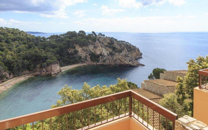 Uitzicht vanuit Giverola Resort Tossa de Mar