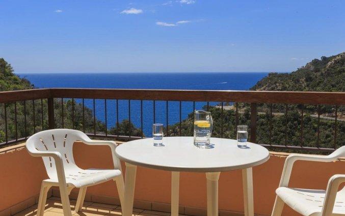 Balkon van een appartement van Giverola Resort Tossa de Mar