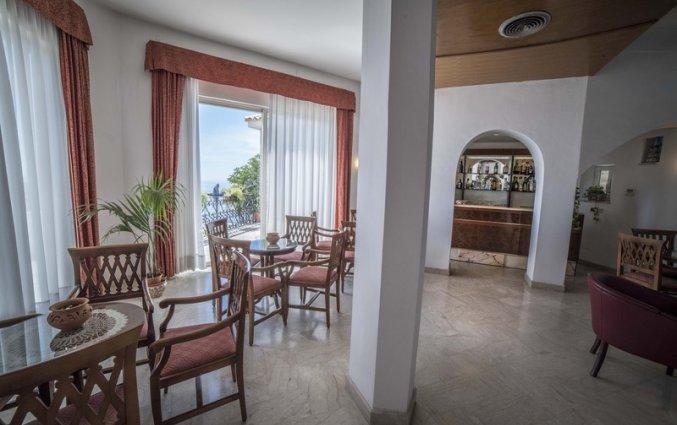 Restaurant van Hotel Isola Bella op Sicilie