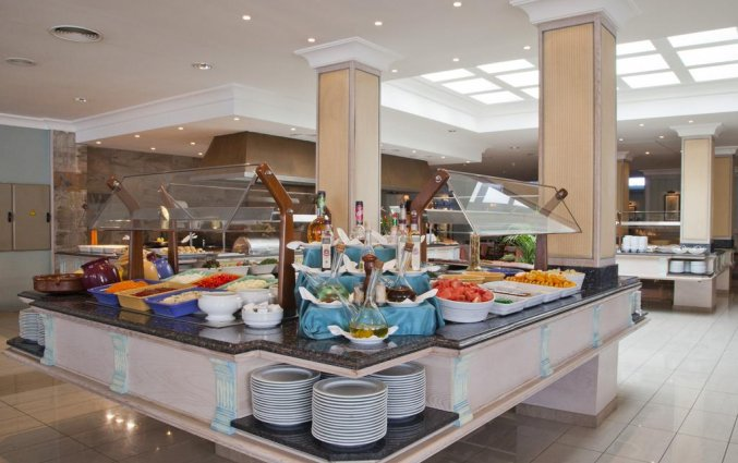 Ontbijtbuffet van hotel Grupotel Amapola op Mallorca
