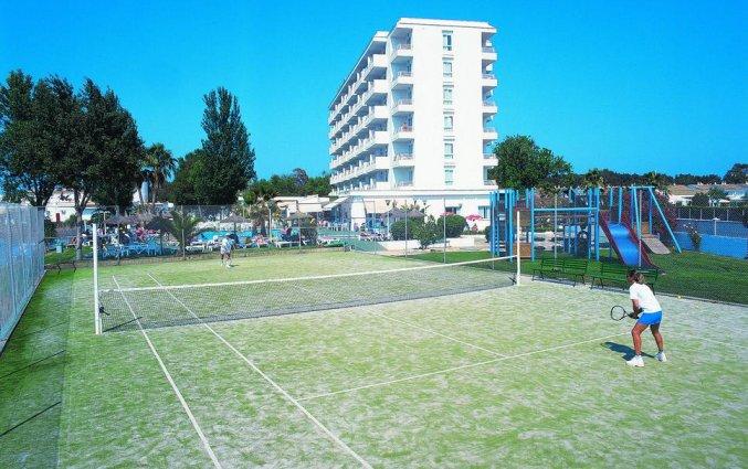 Tennisbaan van hotel Grupotel Amapola op Mallorca