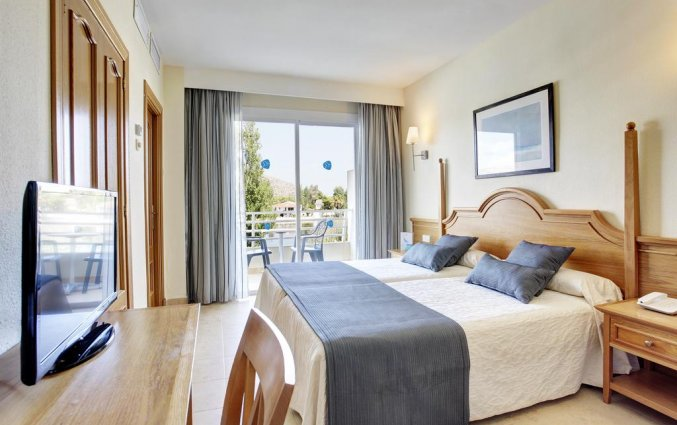 Tweepersoonskamer van hotel Grupotel Amapola op Mallorca