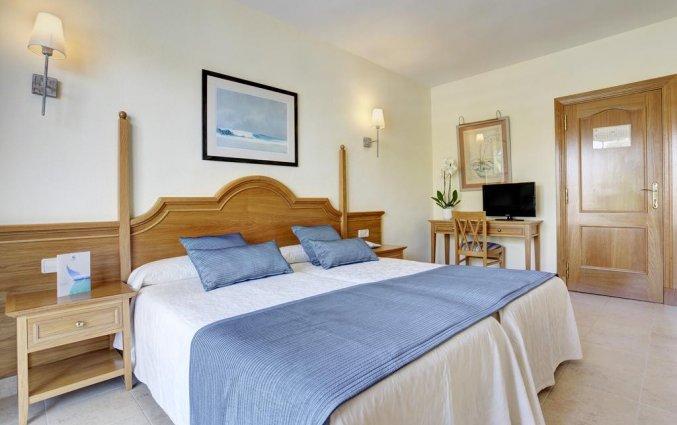 Slaapkamer van hotel Grupotel Amapola op Mallorca