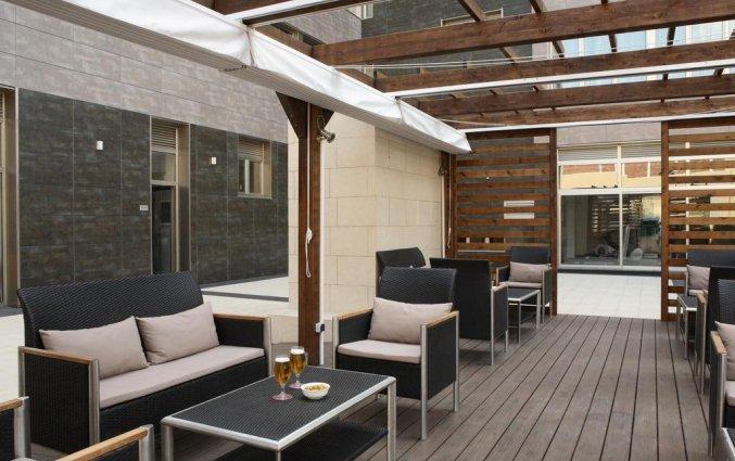 Terras van Hotel Spa Villa Olimpic@ in Barcelona