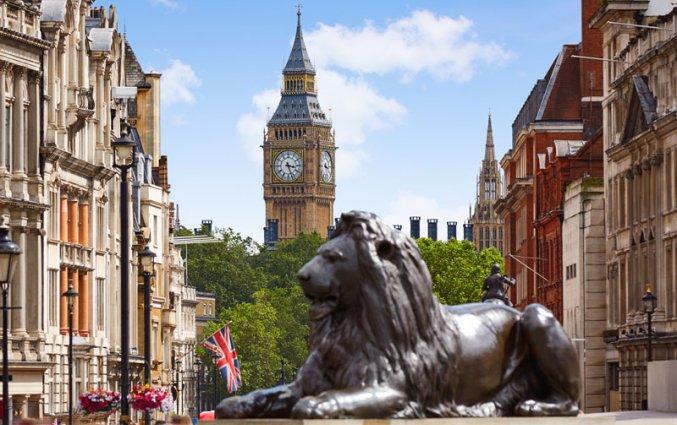 Londen - Straat Big Ben
