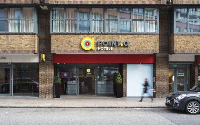 Buitenkant van Hotel Point A Paddington in Londen